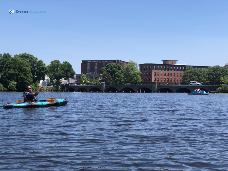 Kayaking In Charles River
