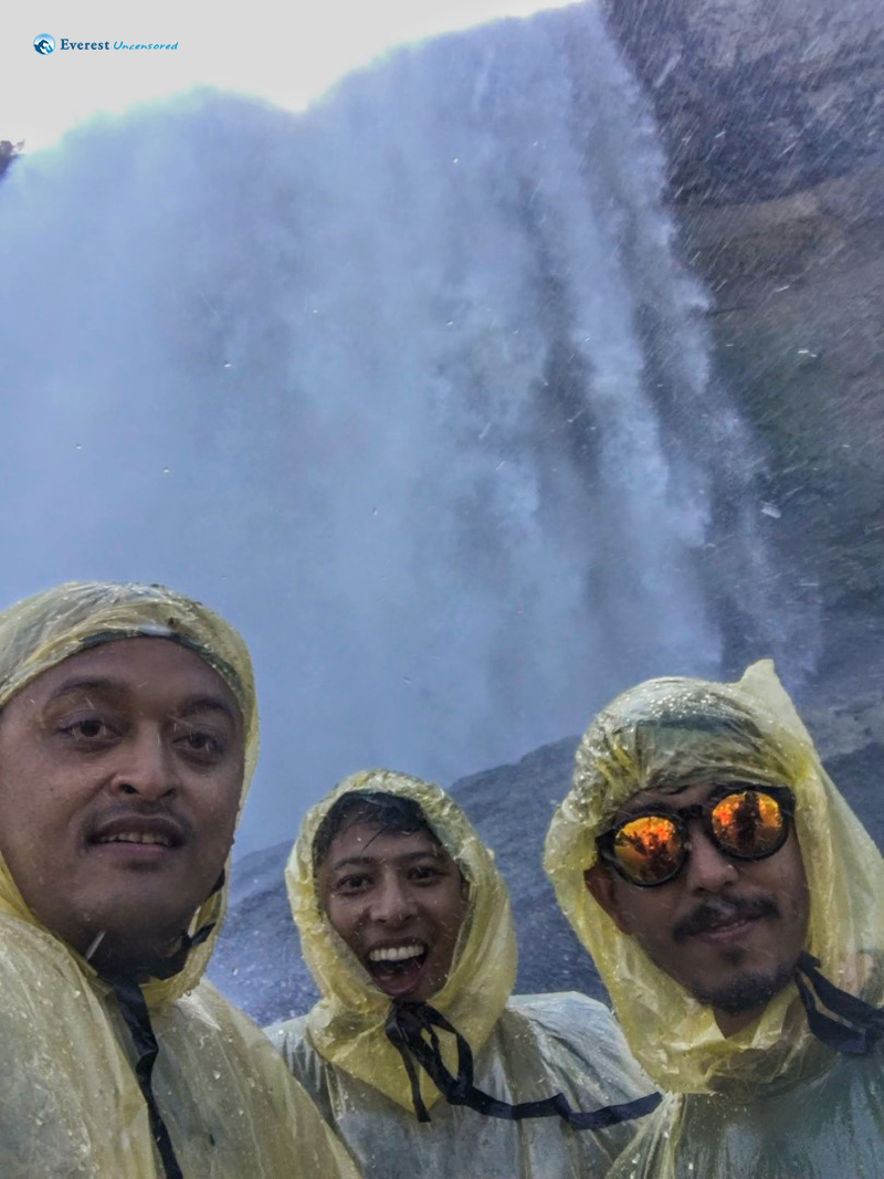 Upclose And Personal With Niagra Falls at Cave of the Winds