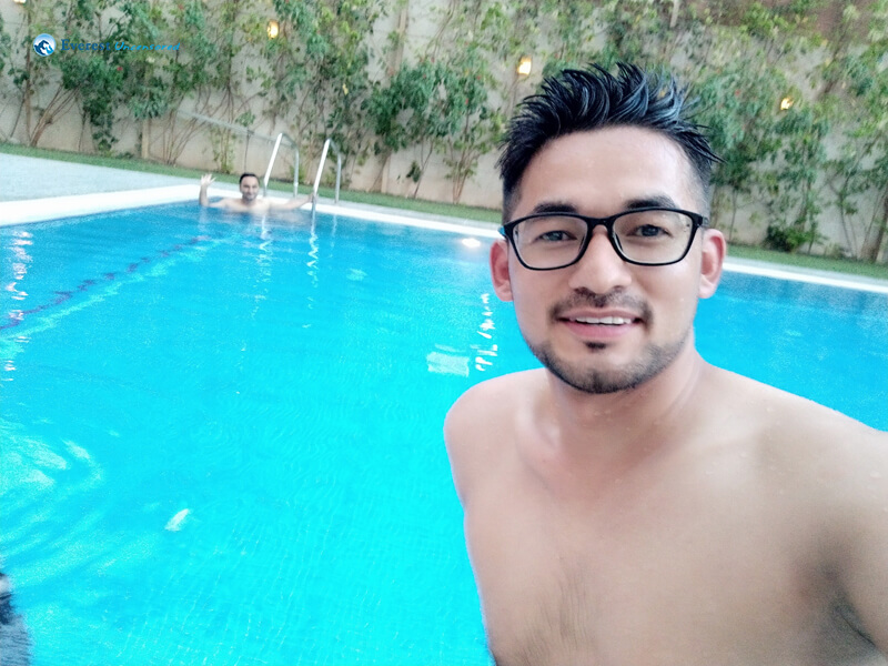 Swimming Time At Concord Hotel