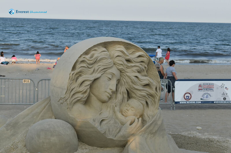 Beautiful Sand Sculpting