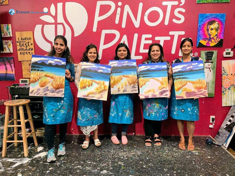 Pinot's Palette: Paint Fun Night