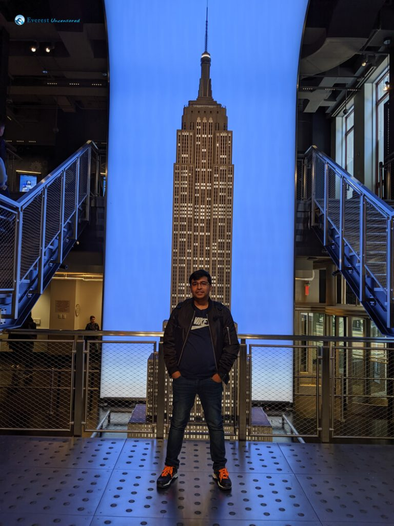 11. At Empire State Building