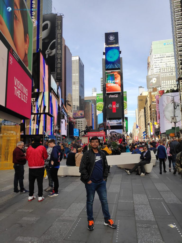 18. At Times Square