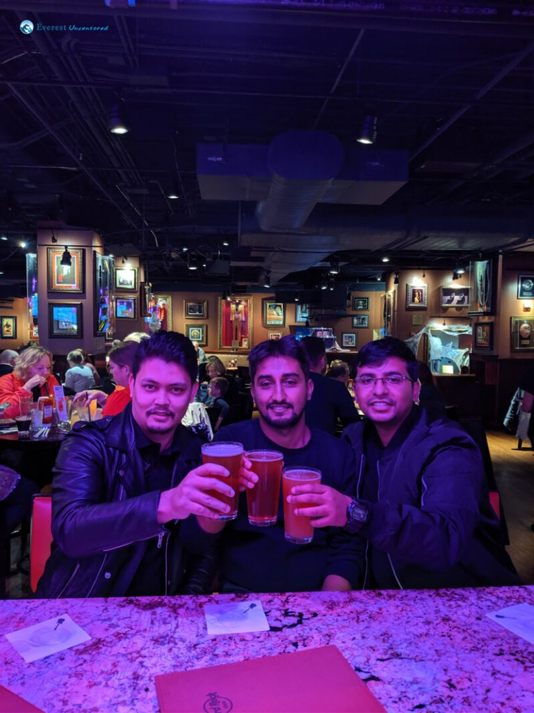 19. Chilling At Hard Rock Cafe